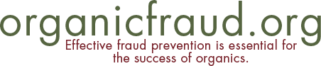 organic fraud logo